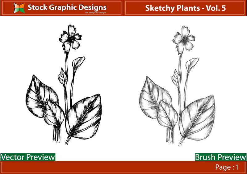 free vector Vector plant