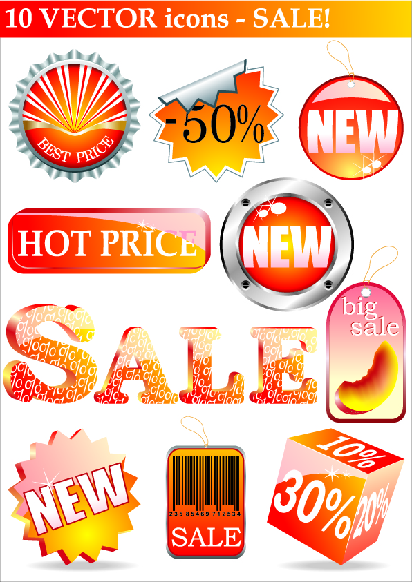 free vector Vector related to the sale