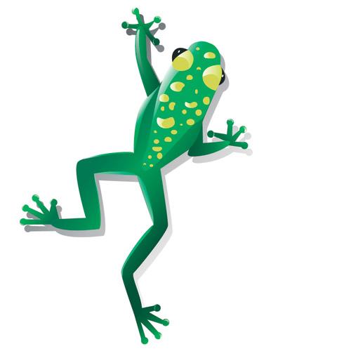 free vector Vector reptiles