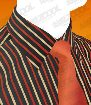 free vector Vector shirt and tie material