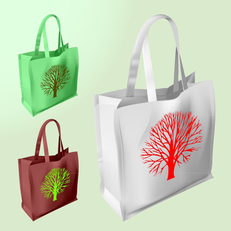 free vector Vector shopping bags