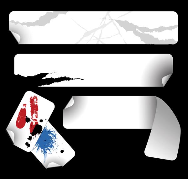 free vector Vector stickers