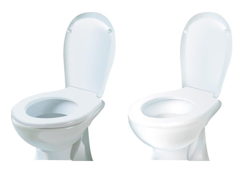 free vector Vector toilet original