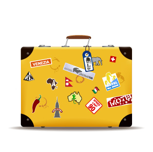 free vector Vector Travel Suitcase