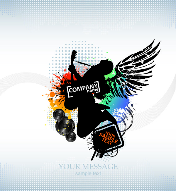 free vector Vector trend of music posters