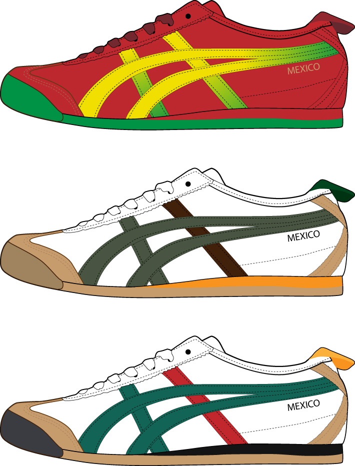 free vector Vector trend of sports shoes