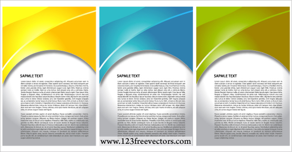 free vector Vector Wave Background