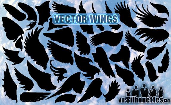 free vector Vector Wings