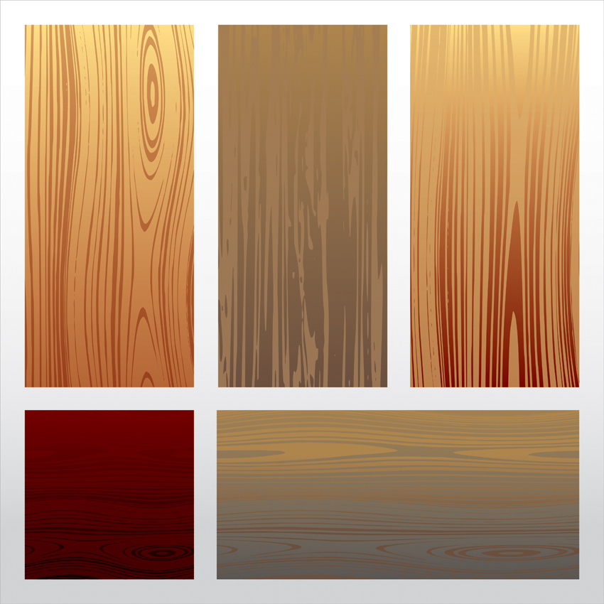 free vector Vector Wood Textures and Signs