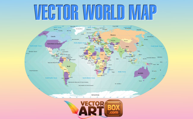 free vector Vector World Map