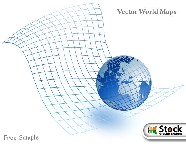 free vector Vector World Maps