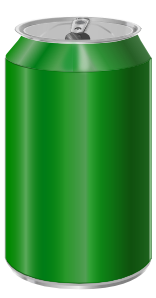 free vector Vectorscape Green Soda Can clip art