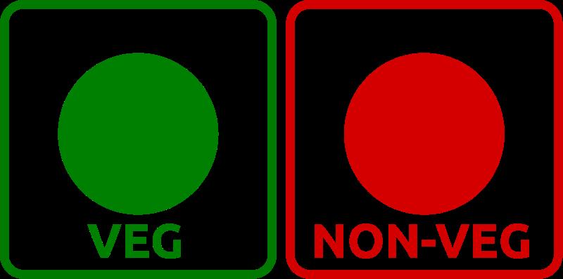 free vector Veg_Non-veg icon
