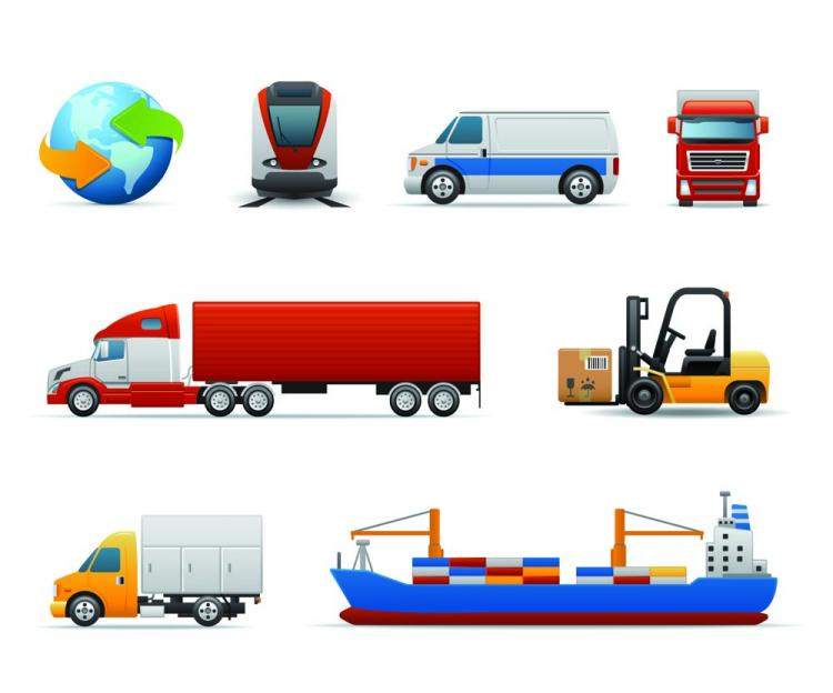 free vector Vehicle icon 01 vector