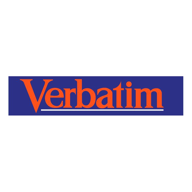 free vector Verbatim 0