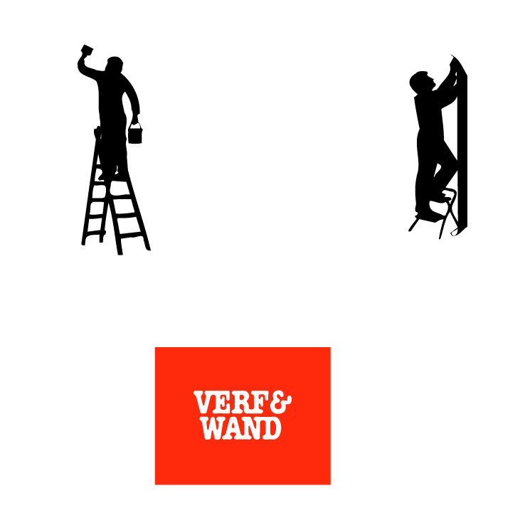 free vector Verf en wand