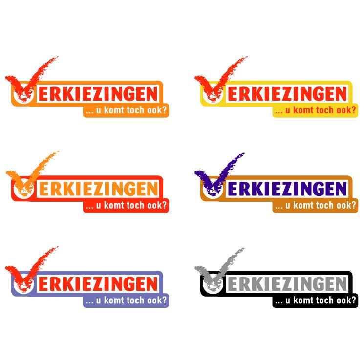 free vector Verkiezingen 2002