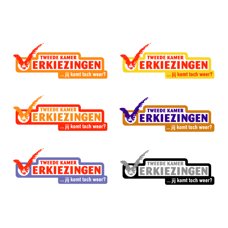 free vector Verkiezingen 2003