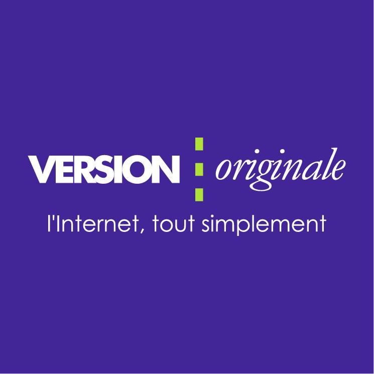 free vector Version originale
