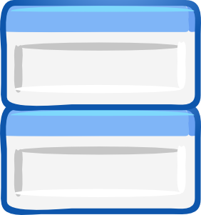 free vector Vertical Dialogs clip art