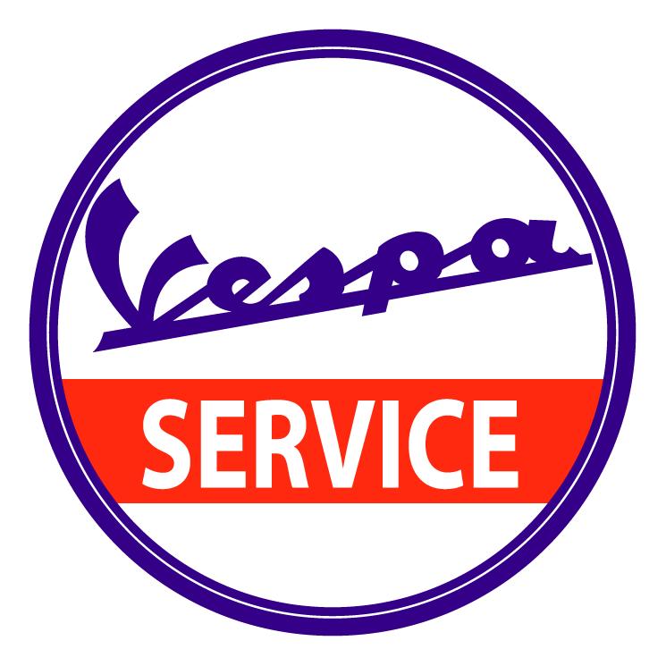 Vespa service Free Vector / 4Vector