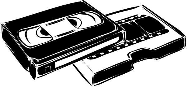 free vector Vhs Cassette Video clip art