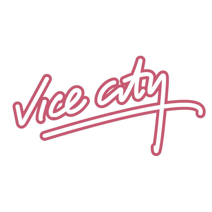 free vector Vice city