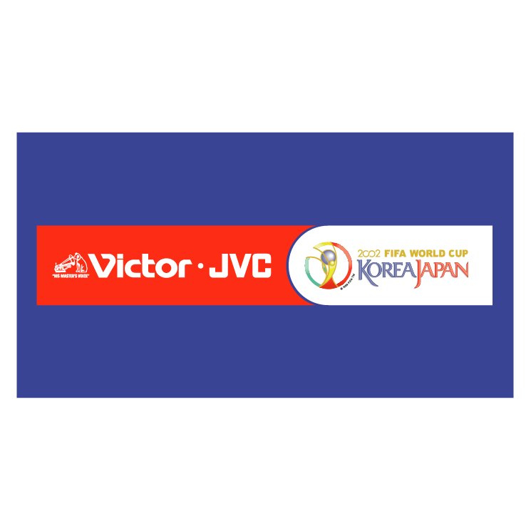 free vector Victor jvc 2002 world cup sponsor
