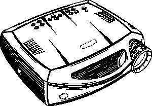 free vector Video Projector clip art
