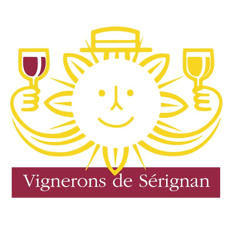 free vector Vignerons de serignan