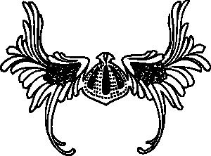 free vector Viking Helmet clip art