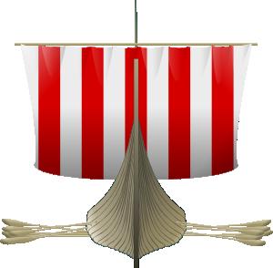 free vector Viking Longship clip art