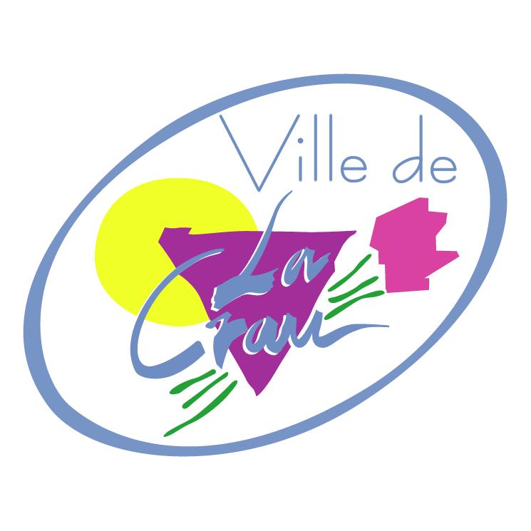 free vector Ville de la crau