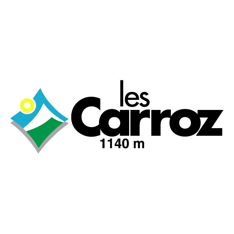 free vector Ville de les carroz