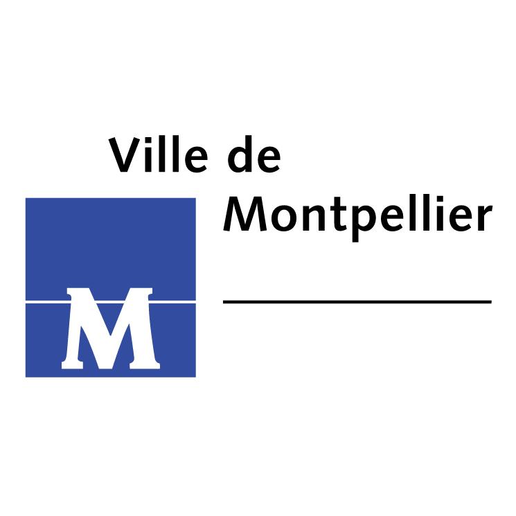 free vector Ville de montpellier