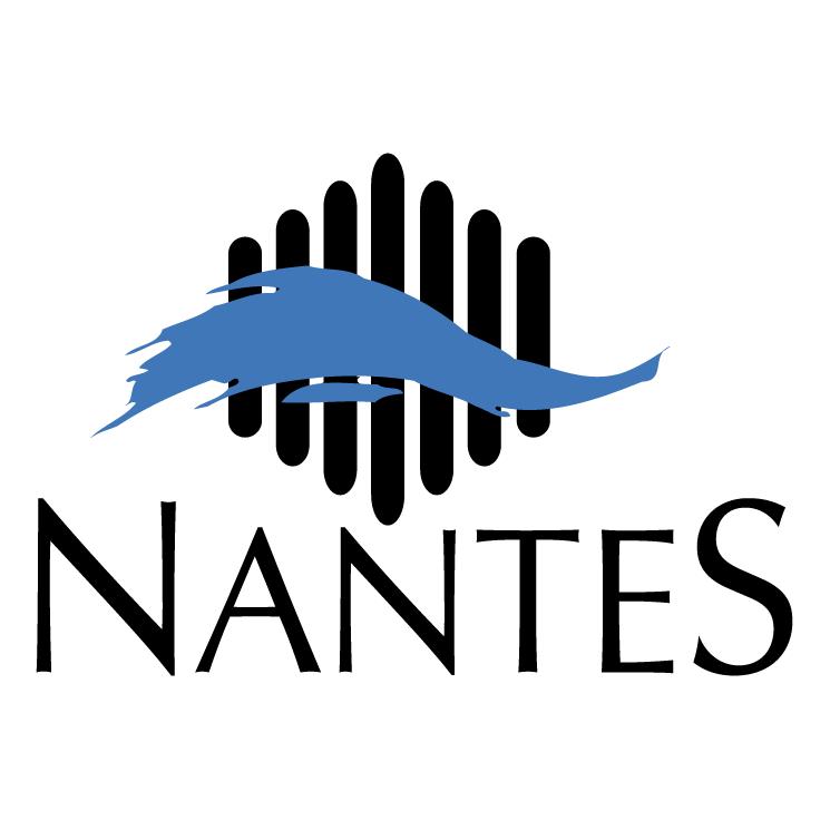 free vector Ville de nantes