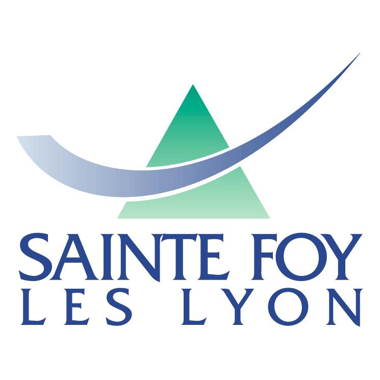 free vector Ville de sainte foy les lyon