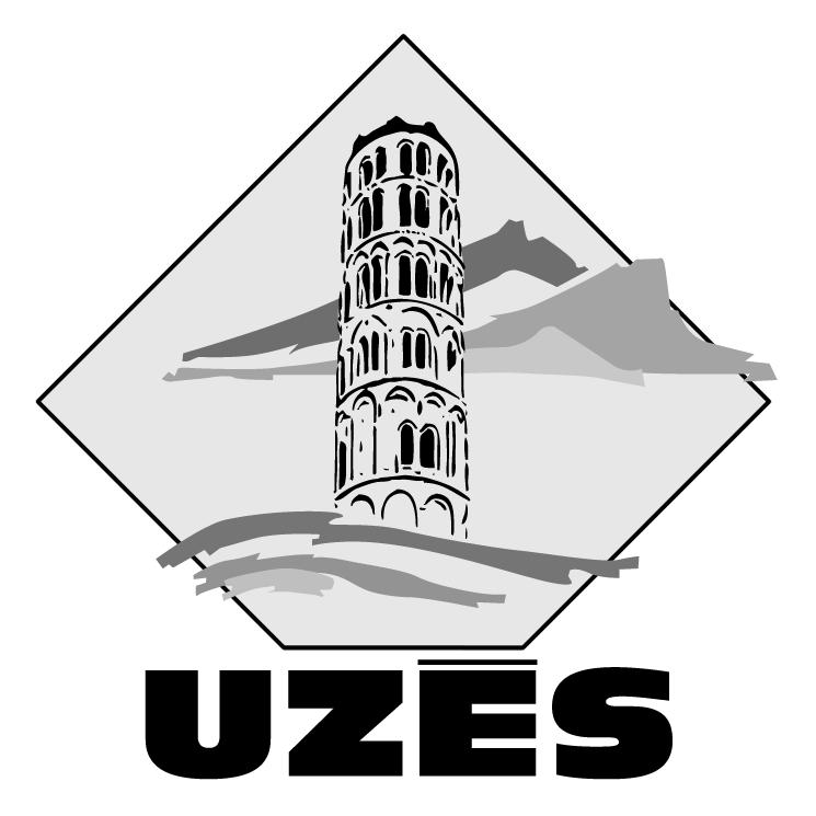 free vector Ville de uzes 0