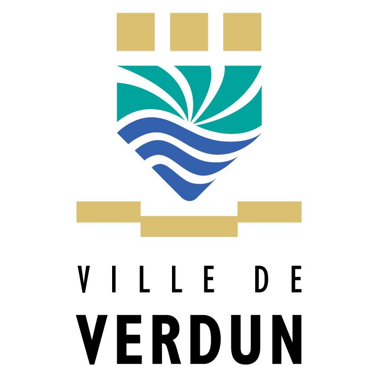 free vector Ville de verdun