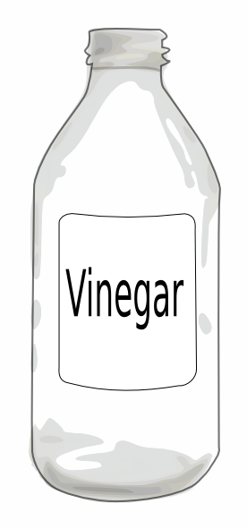 free vector Vinegarbottle clip art