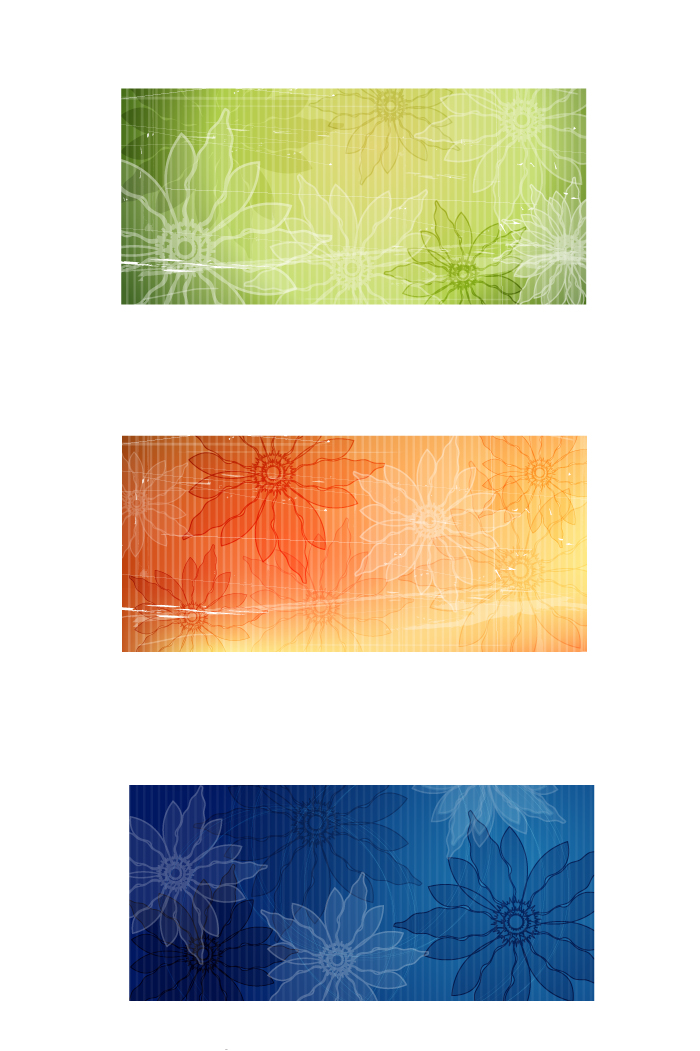 free vector Vintage flower background vector