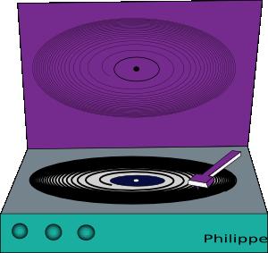 free vector Vinyl Disc clip art