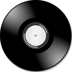 free vector Vinyl Disc Record clip art