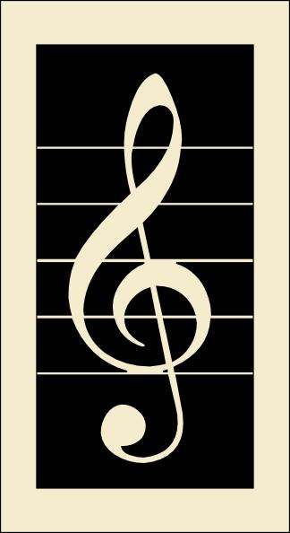 free vector Violin Key clip art