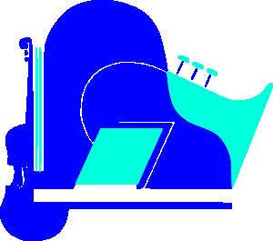 free vector Violin Piano Saxophone clip art
