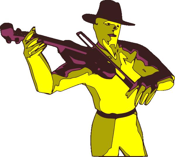 free vector Violoniste clip art