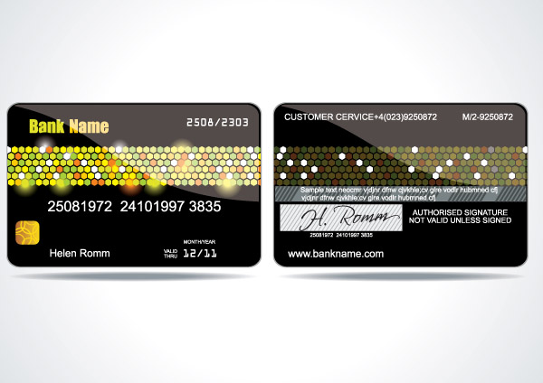 free vector Vip card background vector 3