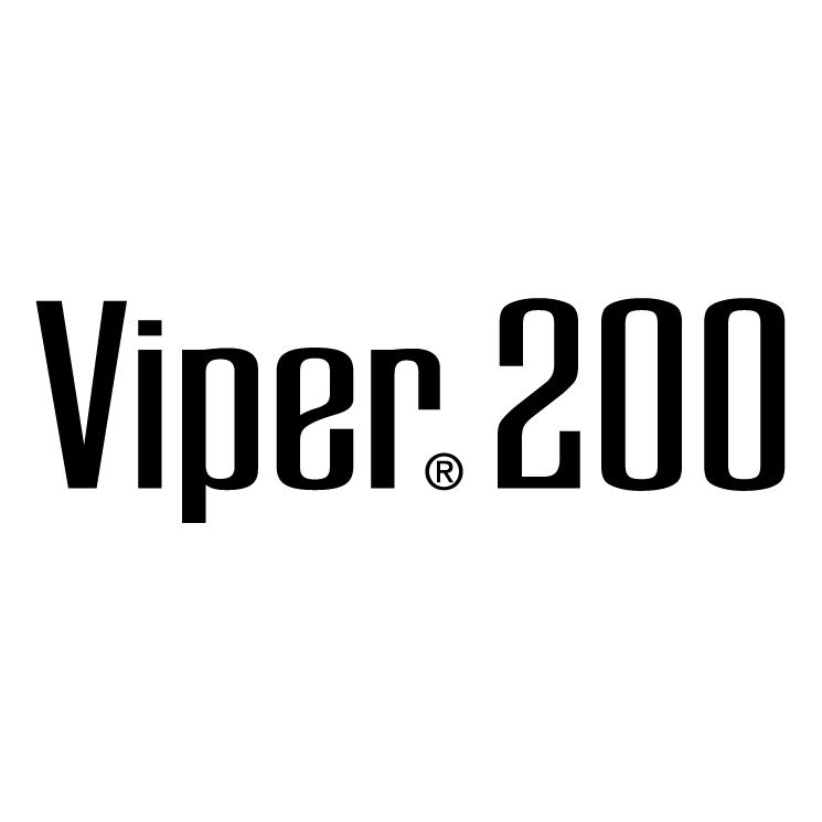 free vector Viper 200