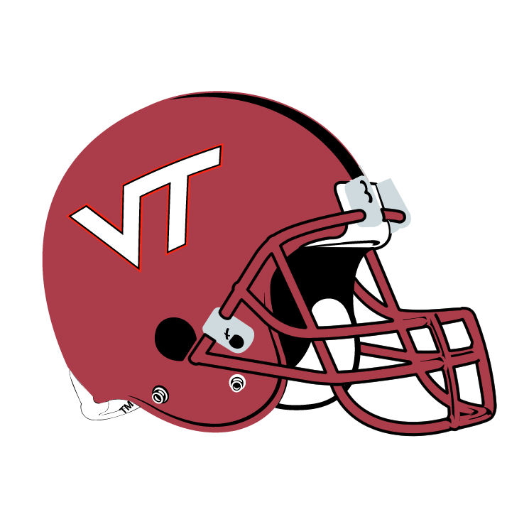 virginia tech hokies free vector / 4vector