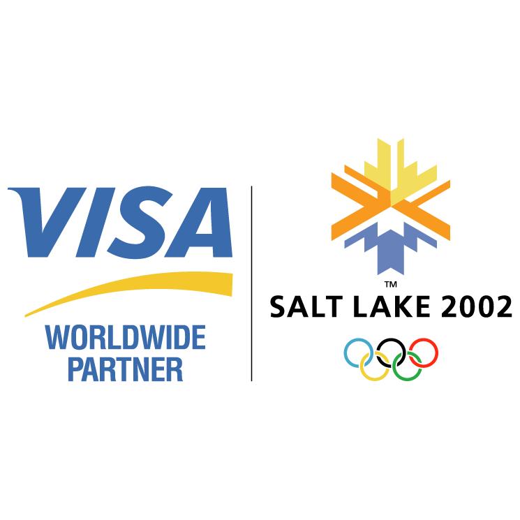 free vector Visa partner of salt lake 2002